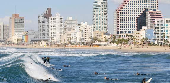 Tel Aviv seafront