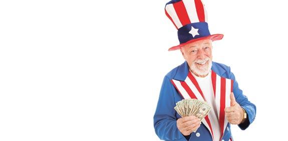 דולרים ארצות הברית /  צלם :  /Shutterstock.com א.ס.א.פ קראייטיב