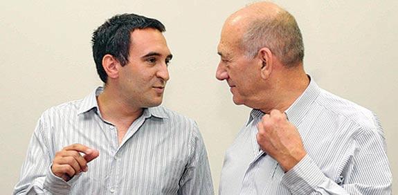 אהוד אולמרט  שאול אולמרט / צילום: אוריה תדמור