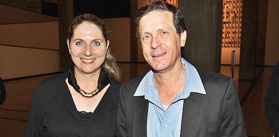 יצחק (בוז'י) ומיכל הרצוג, ערב התרמה לחולי ALS / צילום: יוסי כהן