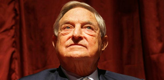 George Soros picture: Bloomberg