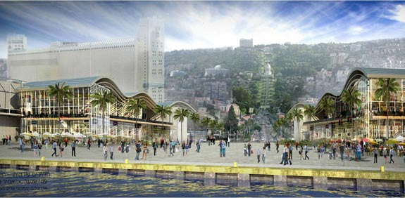 Haifa seafront