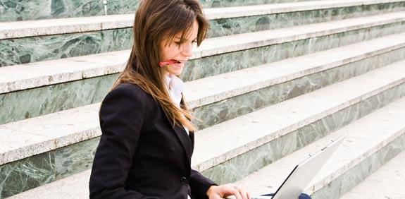אשת עסקים / צילום: thinkstock