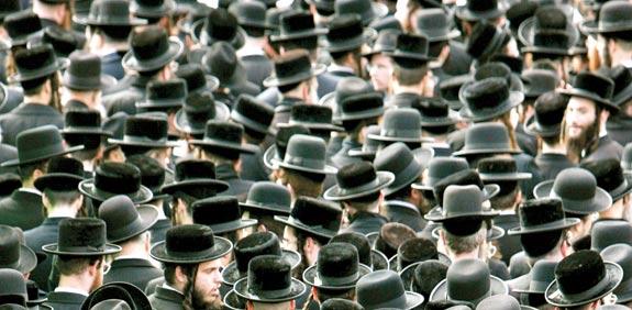 ultra-orthodox men
