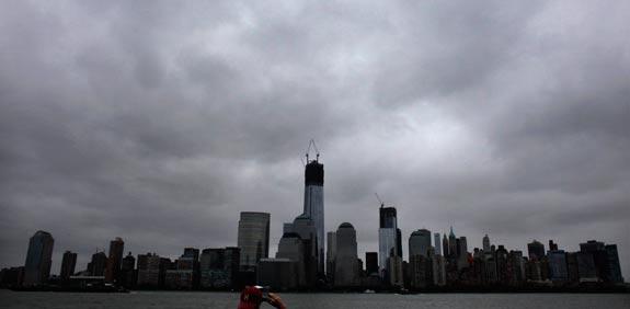 סופת הוריקן  סנדי מנהטן / צילום: רויטרס