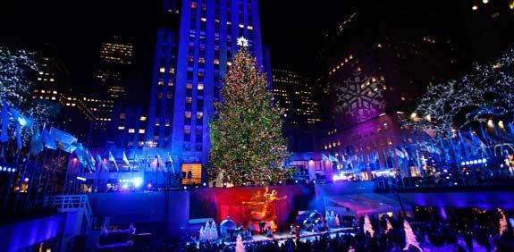 חג המולד במרכז רוקפלר / צילום: רויטרס