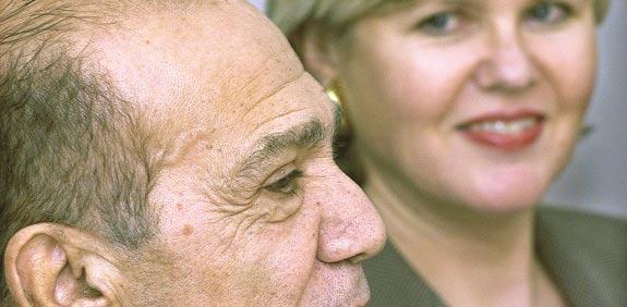 אנג'לה וסמי  שמעון / צילום: איל פישר