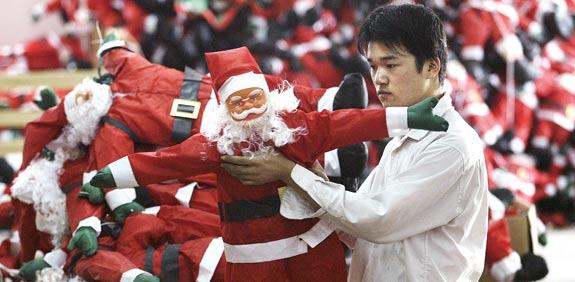 מפעל צעצועים בסין / צילום: רויטרס