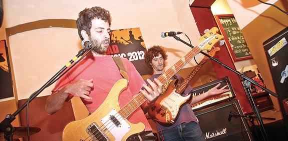 להקת פרנקו לילי / צילום: רוני שיצר