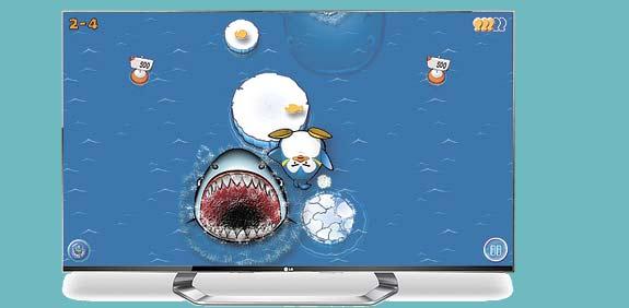 משחק תלת מימד לטלוויזיות של LG / צילום: יחצ