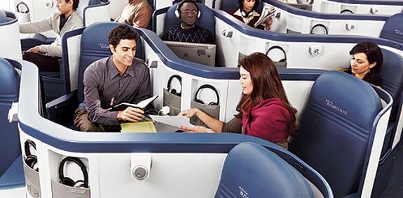 מחלקת עסקים בטיסות דלתא / צילום: יחצ