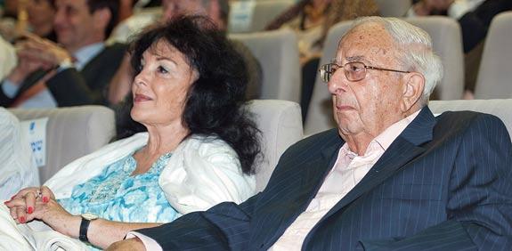 יצחק ומירי נבון / צילום: דוברות הכנסת