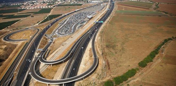 הנתיב המהיר כביש 1 / צלם: רודי אלמוג יחצ