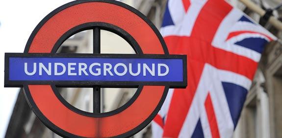 רכבת תחתית בלונדון, אנדרגראונד / צלם: רויטרס