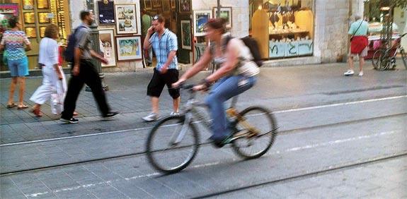 אופניים / צלם: מירב מורן