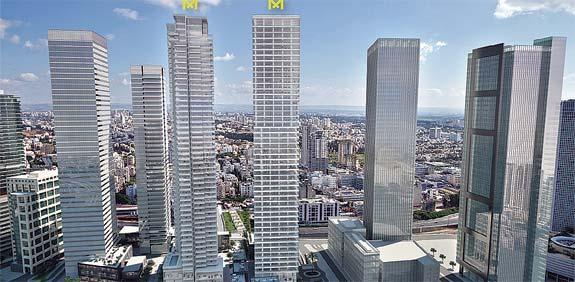 מגה וברק סופית: ארנסט אנד יאנג רוכשת 21 קומות משרדים במידטאון - גלובס VR-21