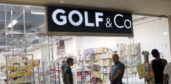 חנות של גולף אנד קו / צילום: אייל פישר