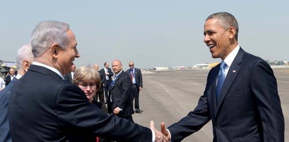 """ברק אובמה בנימין נתניהו / צילום:  צילום: אבי אוחיון לע""""מ"""