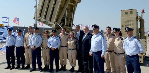 Obama, Netanyahu and Iron Dome