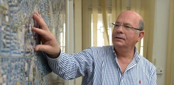 יואל לביא ראש עיריית רמלה / צילום: אבי רוקח