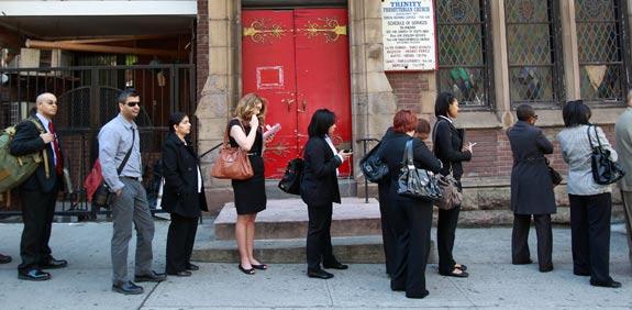 """שוק העבודה ארה""""ב / צילום: רויטרס"""