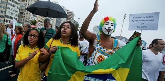הפגנות בברזיל / צלם: רויטרס