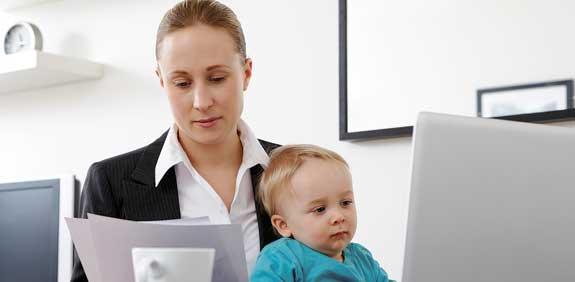 אמהות עובדות / צילום: Imagebank/Thinkstock