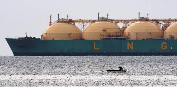 LNG  photo: Reuters