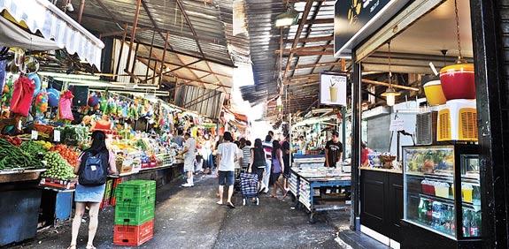 שוק הכרמל / צילום: בן יוסטר