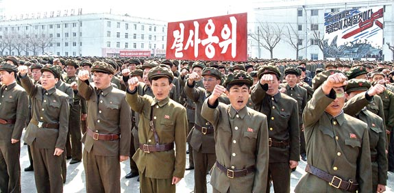 North Korean soldiers Photo: Reuters