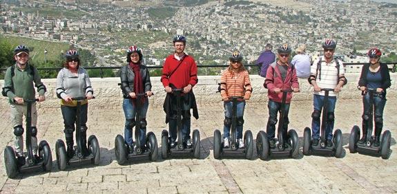 סיור סגווי בירושלים/ צילום: זוזו תיירות מוטורית
