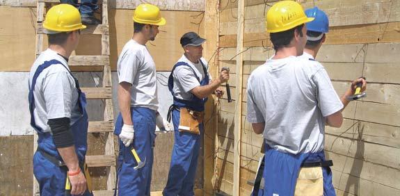 קורס להכשרת פועלי בניין / צילום: יחצ