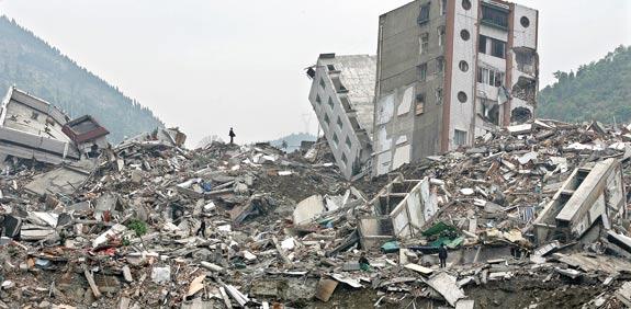 רעידת אדמה בסין ב- 2008  / צילום: רויטרס