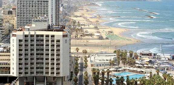 בתי מלון בתל אביב/צילום: תמר מצפי
