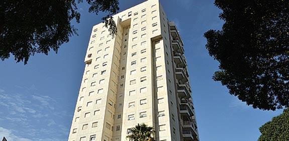 Apartment block  picture: Tamar Mitzpi