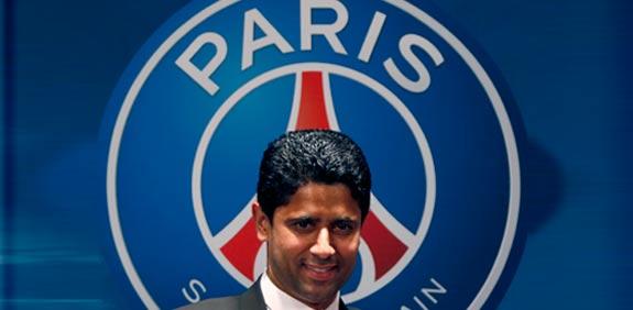 """נאסר אל-חלאיפי מנכ""""ל פריז סן-ז'רמן / צלם: רויטרס"""