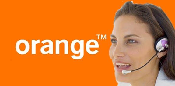 נציגת שירות אורנג' / צילום: thinkstock  יחצ