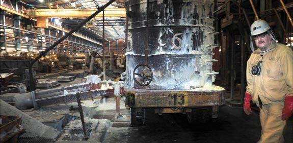 מפעל המגנזיום כיל / צילום: רפי קוץ