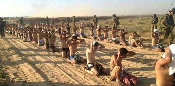 captured Hamas terrorists