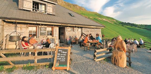 בית קלאסי בהרים - שוויץ / צילום: לשכת התיירות השווייצרית