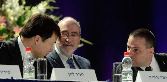 אשר גרוניס ודורון ברזילי / צילום: אוריה תדמור