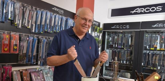 דני רוזנפלד - סכיני ארקוס / צילום: תמר מצפי
