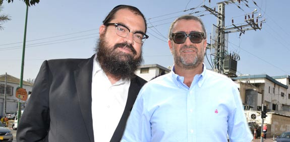 יעקב ושמואל הלפרין / צילום: תמר מצפי