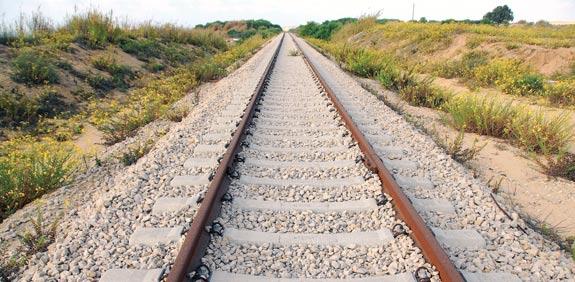 פסי רכבת / צילום: אייל פישר