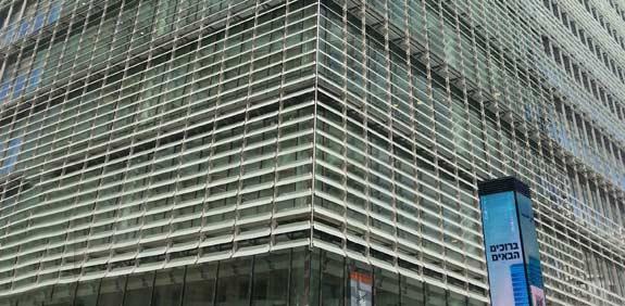 בנין הבורסה החדש / צילום: תמר מצפי