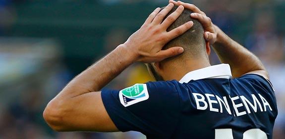 קארים בנזמה, נבחרת צרפת, מונדיאל 2014 / צלם: רויטרס