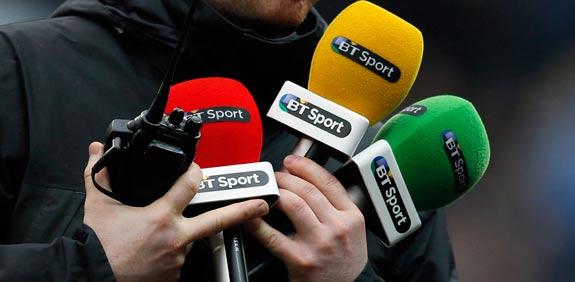 מיקורופונים של חברת התקשורת הבריטית בריטיש טלקום BT / צלם: רויטרס