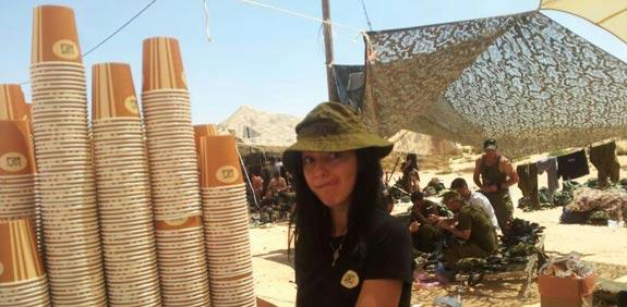 אילן'ס מפנקת חיילים / צילום: יחצ