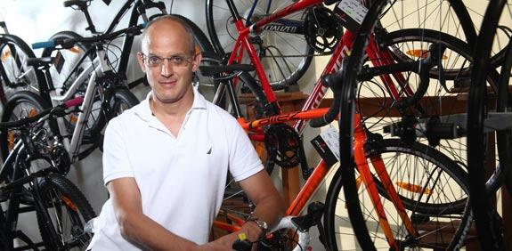 זיו גולדשיט- מצמן את מרוץ מילניום / צילום: גל חרמוני