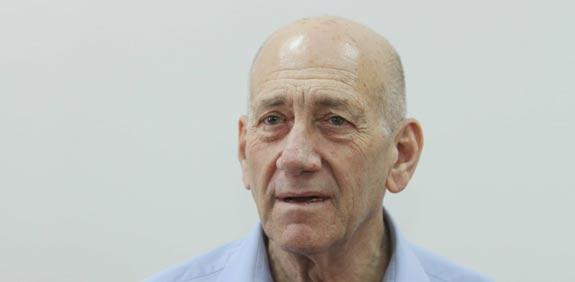 אהוד אולמרט / צילום: עידו ארז